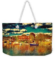 The Other Half Weekender Tote Bag