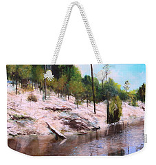 The Other Side 2 Weekender Tote Bag by M Diane Bonaparte
