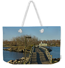 The Other Side Weekender Tote Bag by Jose Rojas