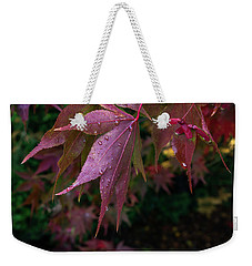 The Other Side Of Maple Weekender Tote Bag