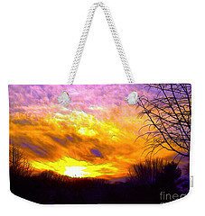 The Other Side Of The Rainbow Weekender Tote Bag by Robyn King