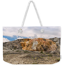 Weekender Tote Bag featuring the photograph The Other Yellowstone by John M Bailey