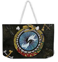 The Ouroboros Weekender Tote Bag