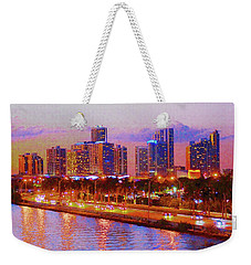 The Outer Drive Weekender Tote Bag