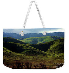 The Outskirts Of San Luis Reservoir, California Weekender Tote Bag