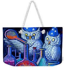The Owl Chemists Weekender Tote Bag