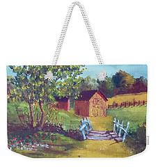 The Pack Houses Weekender Tote Bag by Jim Phillips