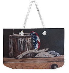 The Paint Can Weekender Tote Bag