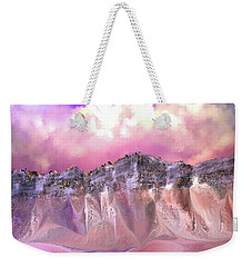 The Painted Sand Rocks Weekender Tote Bag