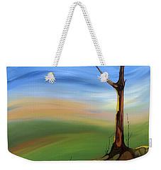The Painted Sky Weekender Tote Bag by Pat Purdy