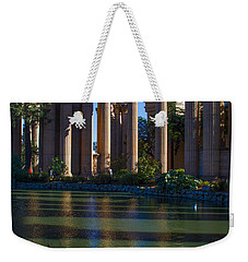 The Palace Pond Weekender Tote Bag