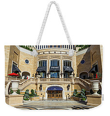 The Palazzo Casino Main Entrance Weekender Tote Bag by Aloha Art