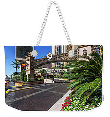 The Palazzo Casino Side View Weekender Tote Bag by Aloha Art