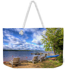 Weekender Tote Bag featuring the photograph The Palmer Point Beach by David Patterson