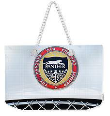 Weekender Tote Bag featuring the photograph The Panther Car Company by Theresa Tahara