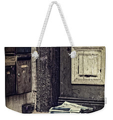 The Paper Boy Was There. Weekender Tote Bag
