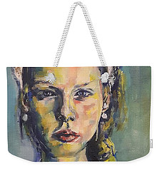 The Paper Lace Crown Queen Weekender Tote Bag