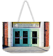 Weekender Tote Bag featuring the photograph The Paramount Theatre by Colleen Kammerer