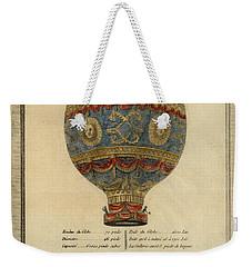 The Paris Ascent Weekender Tote Bag