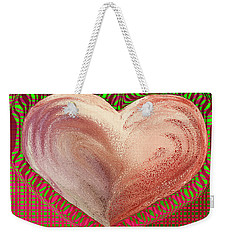 The Passionate Heart Weekender Tote Bag