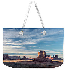 Weekender Tote Bag featuring the photograph The Past by Jon Glaser