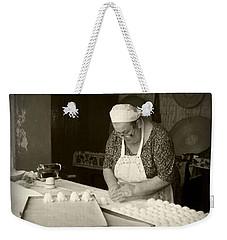 The Pastry Maker, Sardinia Weekender Tote Bag