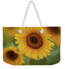 The Patch Of Sunflowers Weekender Tote Bag