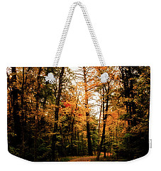 Weekender Tote Bag featuring the photograph The Path by Annette Berglund