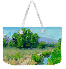 The Path By The Ditch Weekender Tote Bag