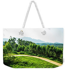 The Path In The Mountain Weekender Tote Bag
