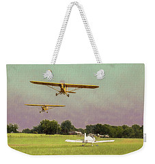 Weekender Tote Bag featuring the photograph The Pattern Is Full by James Barber