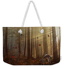 The Peace Of An Autumn Sunset Weekender Tote Bag