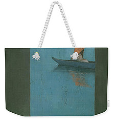 The Peach Parasol Weekender Tote Bag