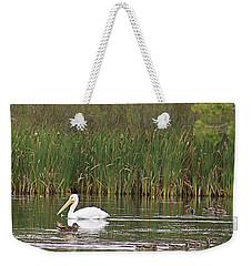 The Pelican And The Ducklings Weekender Tote Bag