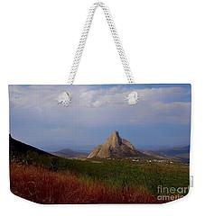 The Pena De Bernal Weekender Tote Bag by John Kolenberg