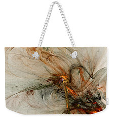 The Penitent Man - Fractal Art Weekender Tote Bag by NirvanaBlues