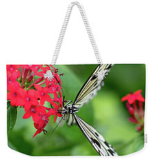 The Perfect Butterfly Land Weekender Tote Bag