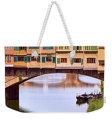 The Perfect Place To Park Your Boat Weekender Tote Bag