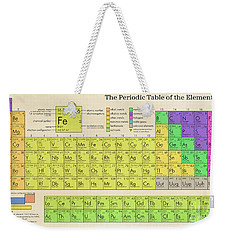 The Periodic Table Of The Elements Weekender Tote Bag