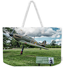 Weekender Tote Bag featuring the photograph The Pete Brothers Hurricane by Alan Toepfer