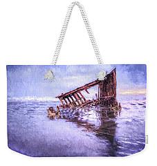 A Stormy Peter Iredale Weekender Tote Bag