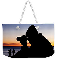 The Photographer Weekender Tote Bag by Greg Fortier