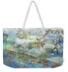 The Piano  Weekender Tote Bag by Betsy Knapp