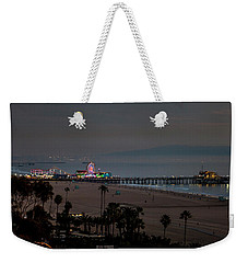The Pier After Dark Weekender Tote Bag