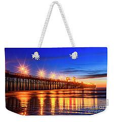 The Pier At Oceanside California Weekender Tote Bag