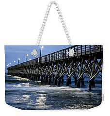 The Pier At The Break Of Dawn Weekender Tote Bag