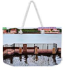 The Pier Weekender Tote Bag by M Diane Bonaparte