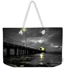 The Pier On The Bay Weekender Tote Bag