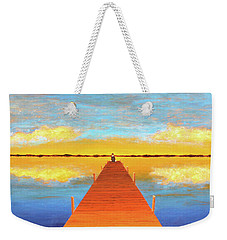 The Pier Weekender Tote Bag by Thomas Blood