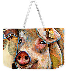 The Pig Weekender Tote Bag